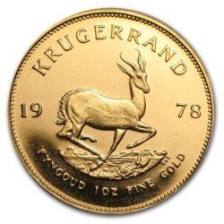 Złoty Krugerrand 24 H-1 oz 999,9 Gold