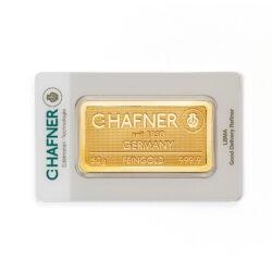 50 gram sztabka złota LBMA C.HAFNER -24 H dostępne ,,od ręki