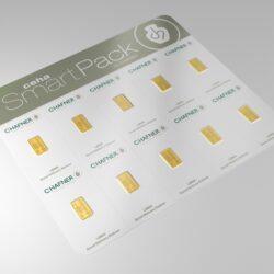 10x 1gram Ceha Smart Pack by C.HAFNER-24 H od ręki