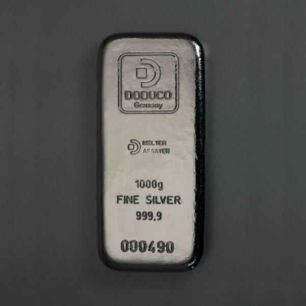 Sztabka srebra 1 kg